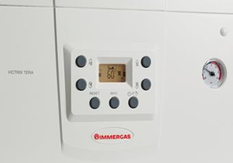 Control-Calor-Reggio-Emilia-Carpi-Parma-Caldaie-condensazione-victrix-tera-24-28-cruscotto